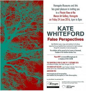invitation Kate Whiteford